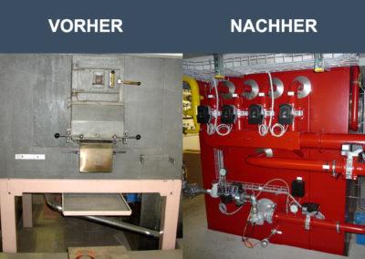 Umbau eines Elektro-Ofen