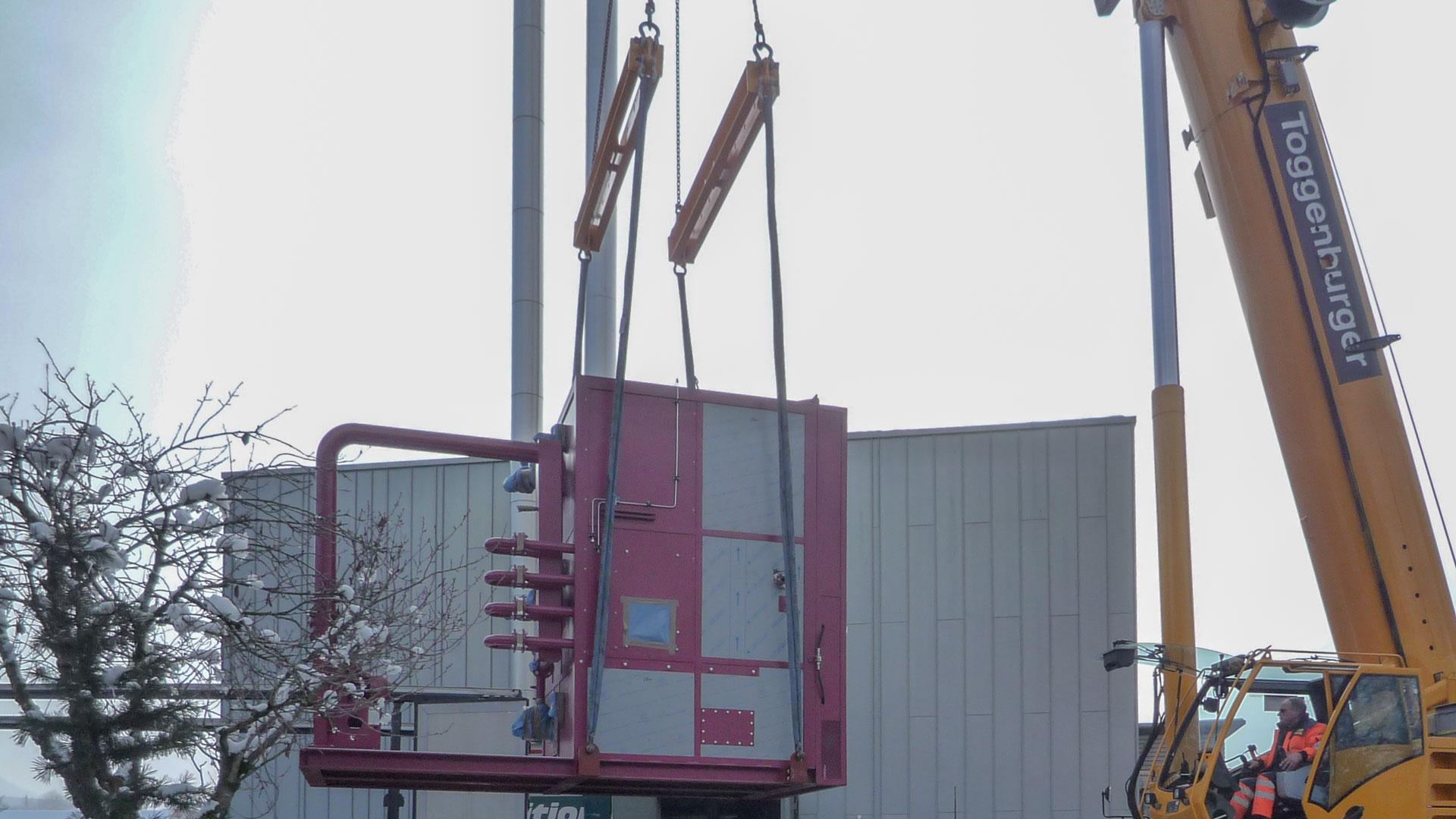 HS Anlagenbau - Ofenmontage