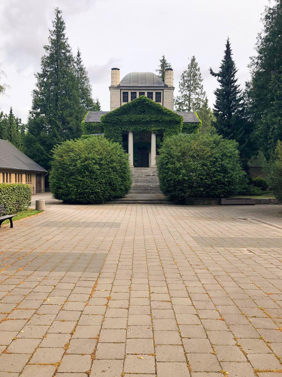 Krematorium Greifswald Aussenansicht