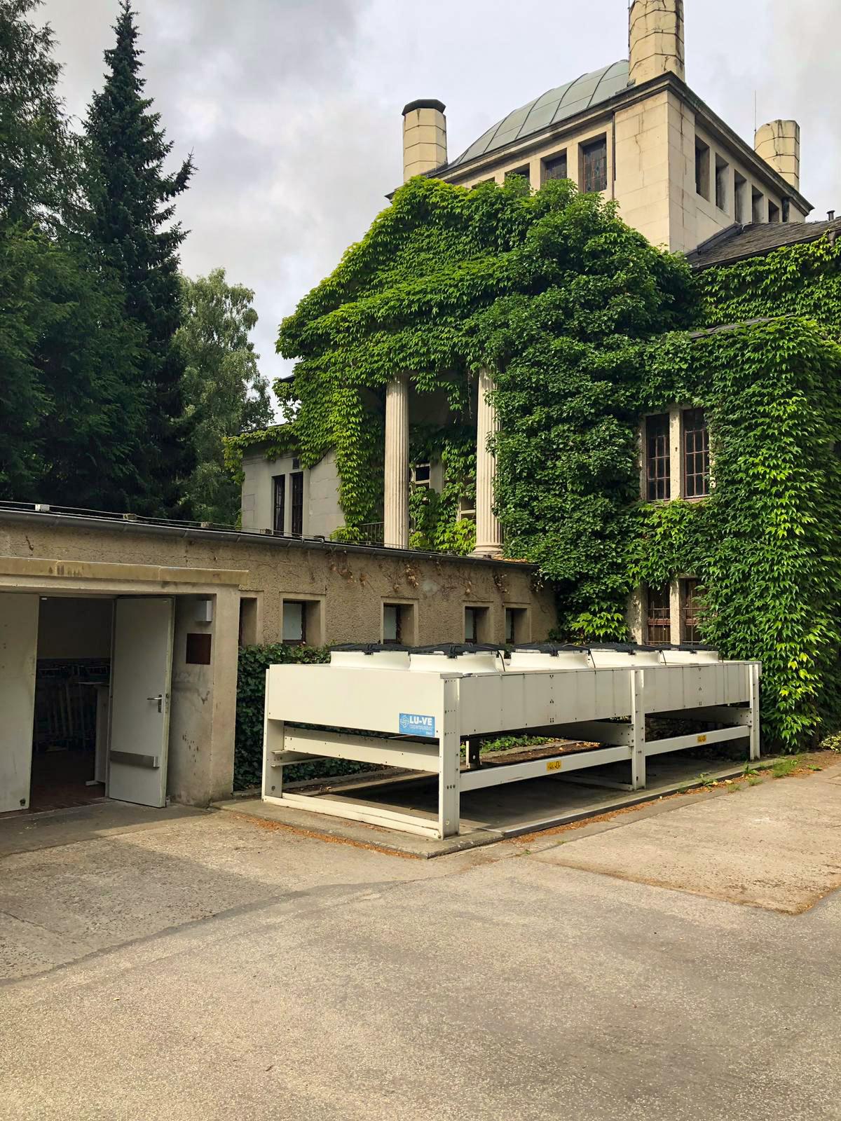 Krematorium Greifswald Rückkühlwerk