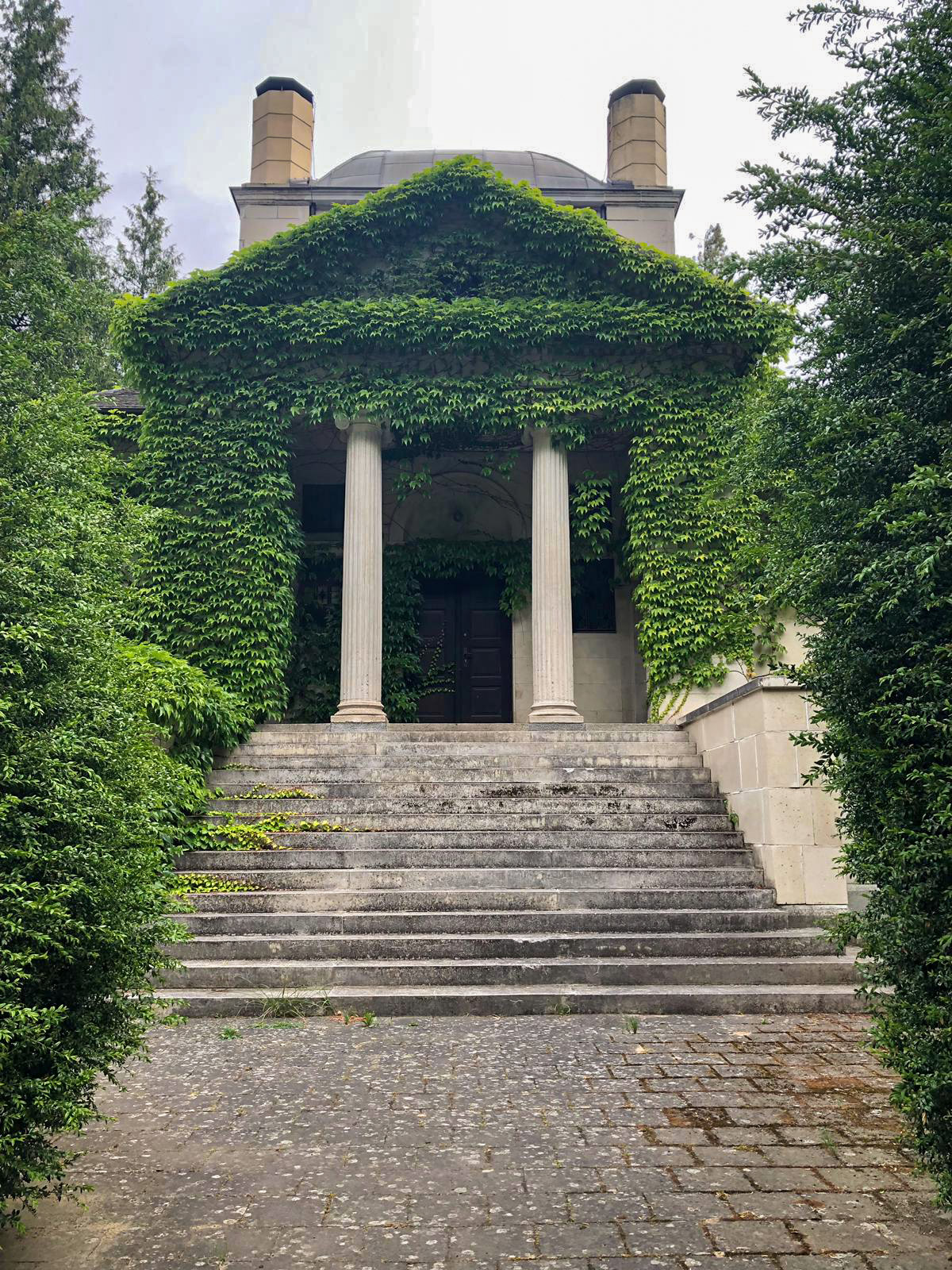 Krematorium Greifswald Treppe